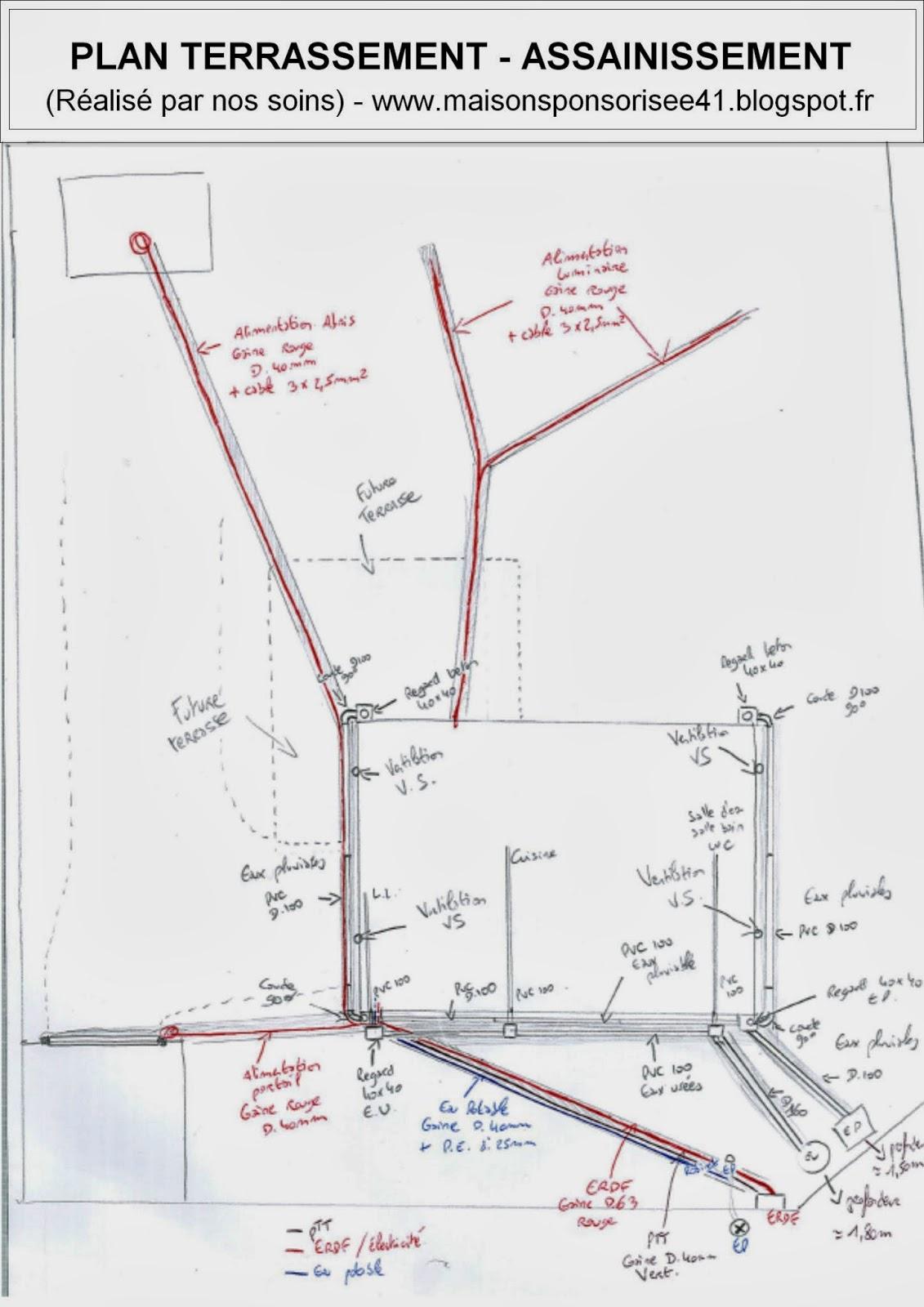 maison sponsoris e 41 label rt 2012 oucques 41290 le terrassement assainissement. Black Bedroom Furniture Sets. Home Design Ideas