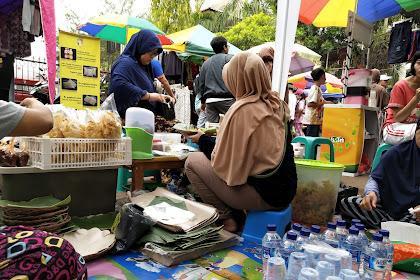 Makanan Pecel Khas Madiun Mbak Ika di GDC Enak dan Laris