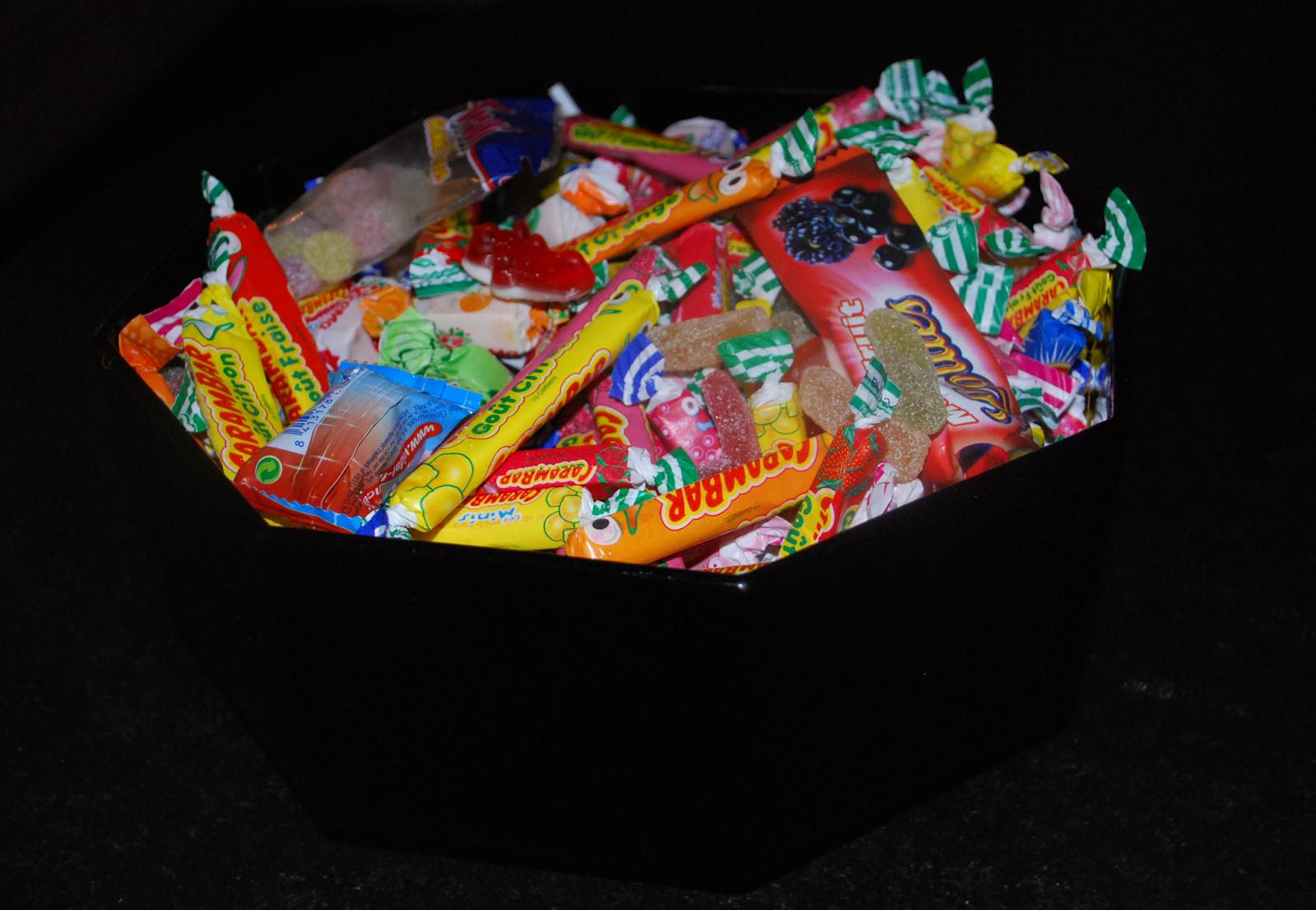 saladier de bonbons