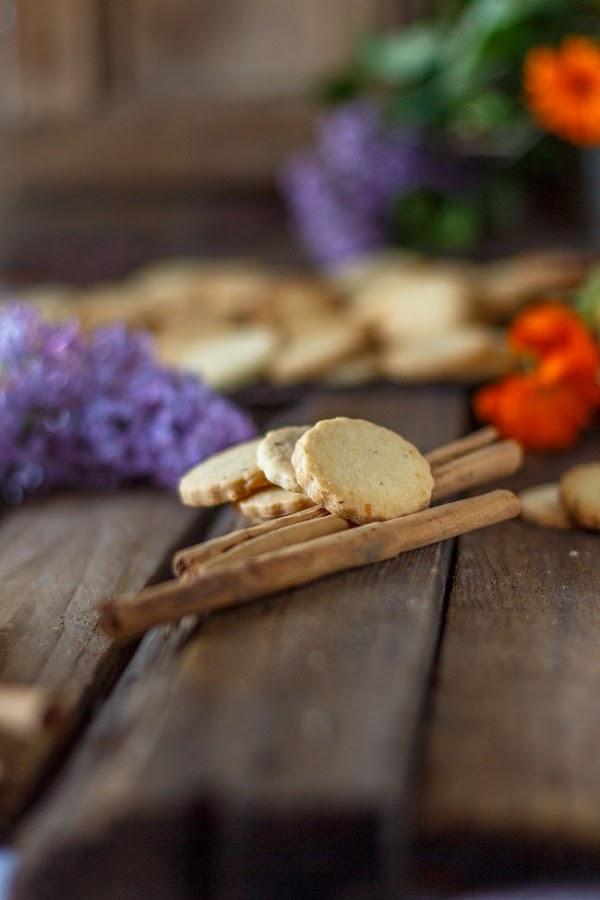 Galletas de naranja y canela. http://www.maraengredos.com/