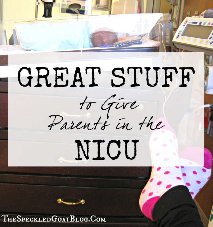 gifts for parents of preemies how to help a family with a baby in the NICU