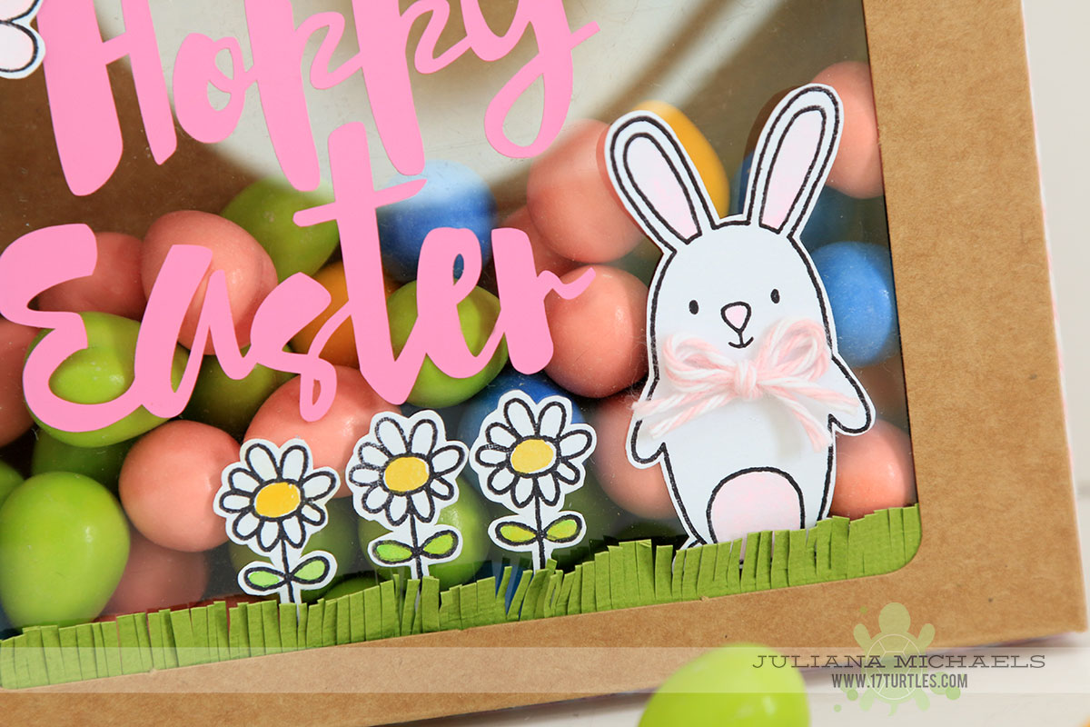 Hoppy Easter Treat Container by Juliana Michaels featuring 17turtles Digital Cut Files and SRM Stickers Adhesive Vinyl and Stamps