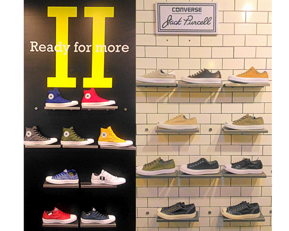 abb1ca105f6c CONVERSE Inc. debuts its Spring Summer2016 Converse All Star Footwearand  Apparel Collection.The new collection explores innovative materials