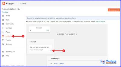 How to Add Custom Logo in Blogger Blog