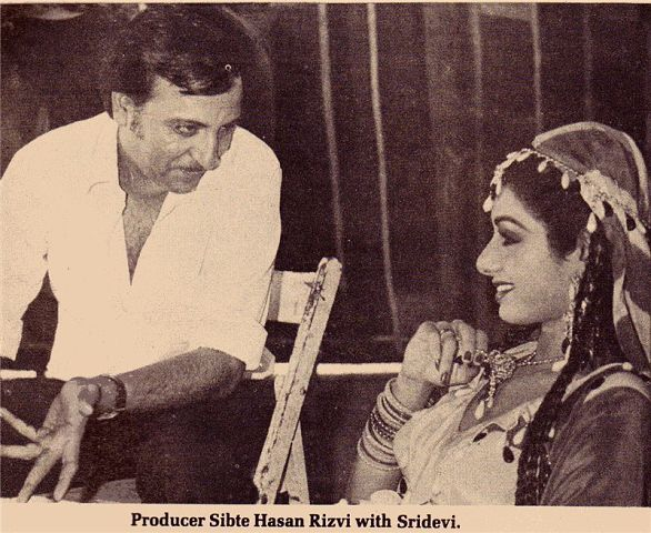 Sridevi Sridevi And Sunny Deol On The Sets Of Joshilay-2138