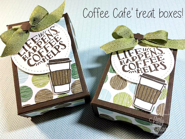 Super Cute Coffee Cafe Box Tutorial