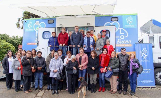 Farmacia Comunitaria Móvil de Río Bueno ya recorre la comuna