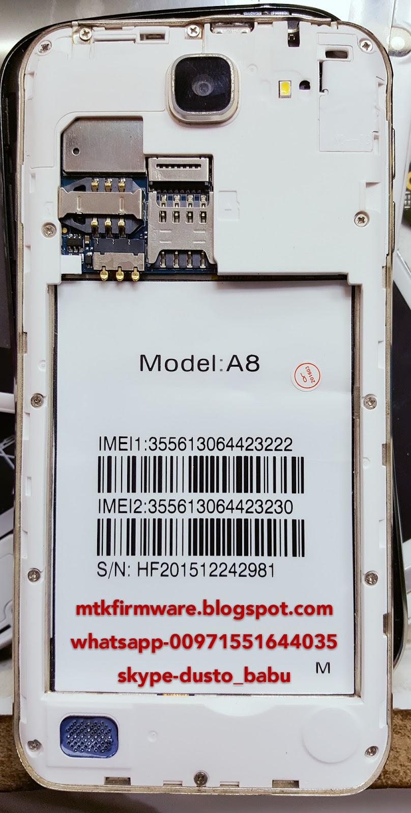 Samsung A8 Clone Firmware MT6572 Flash File Cm2 Read - Mtk Firmware