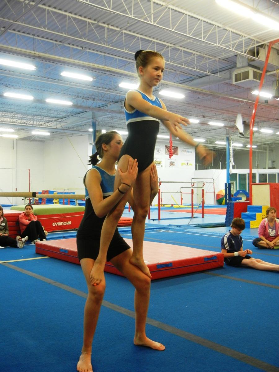 Acrobatic Gymnastics In Ontario: Acro Skill Series of the