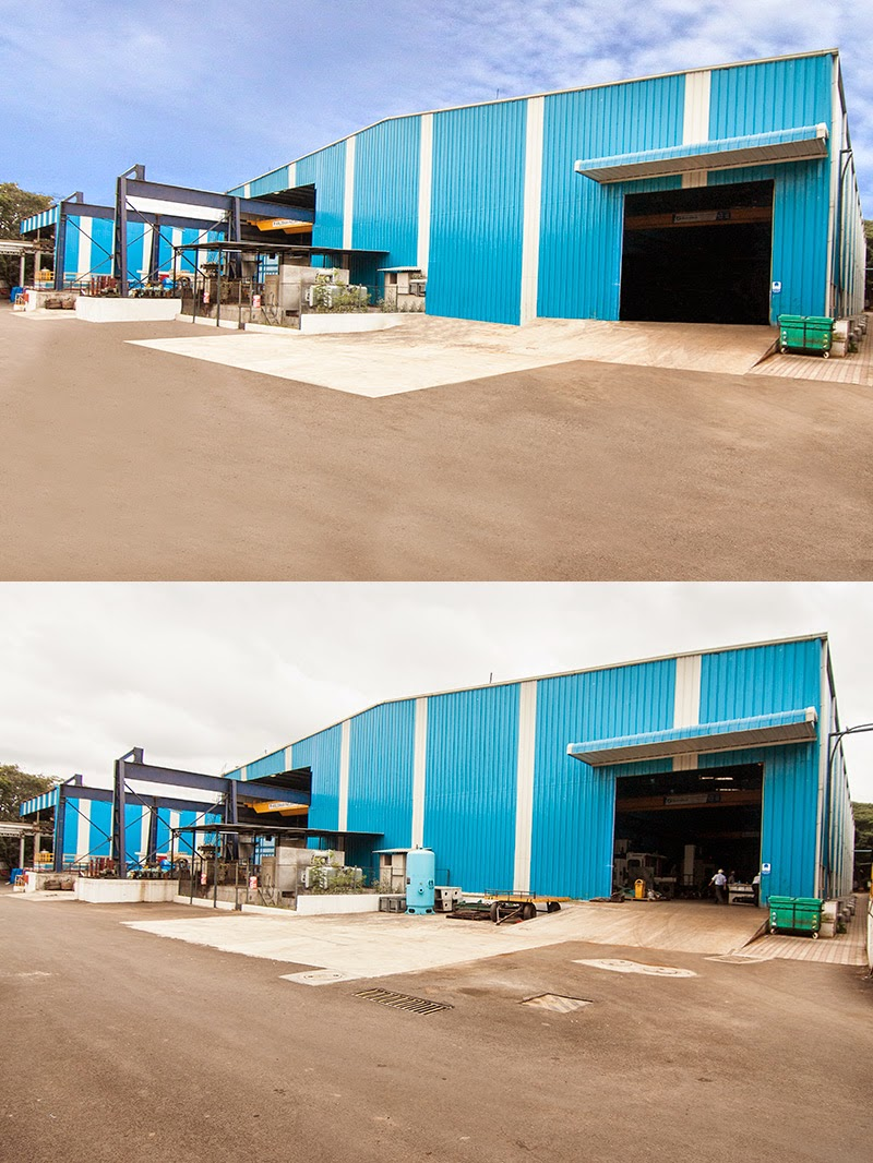 post processing of industrial unit