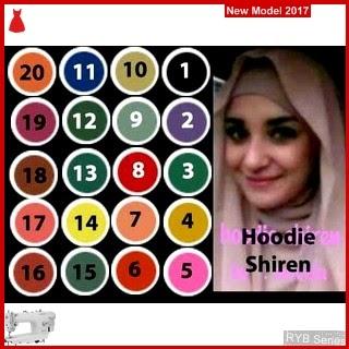 RYB024B Hijab Jilbab Cantik Hoodie Murah Instan BMG Online Shop