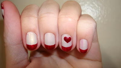 15 valentine nail designs nail and beauty ideas special heart design for short nails very cute prinsesfo Images