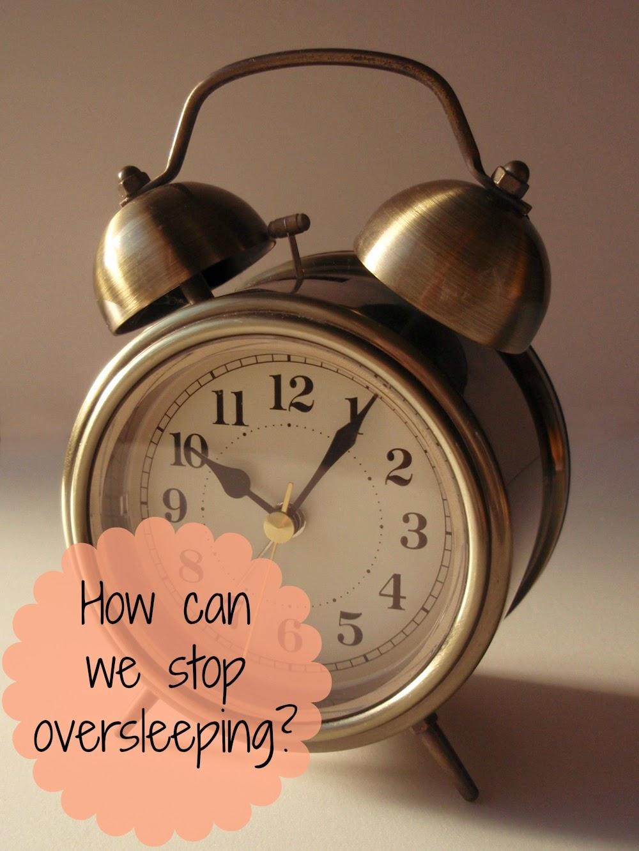 Alarm clock - stop oversleeping