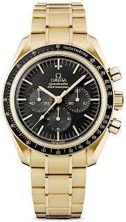 Montre Omega Speedmaster Professional Moonwatch 42mm en or jaune George Clooney Money Monster