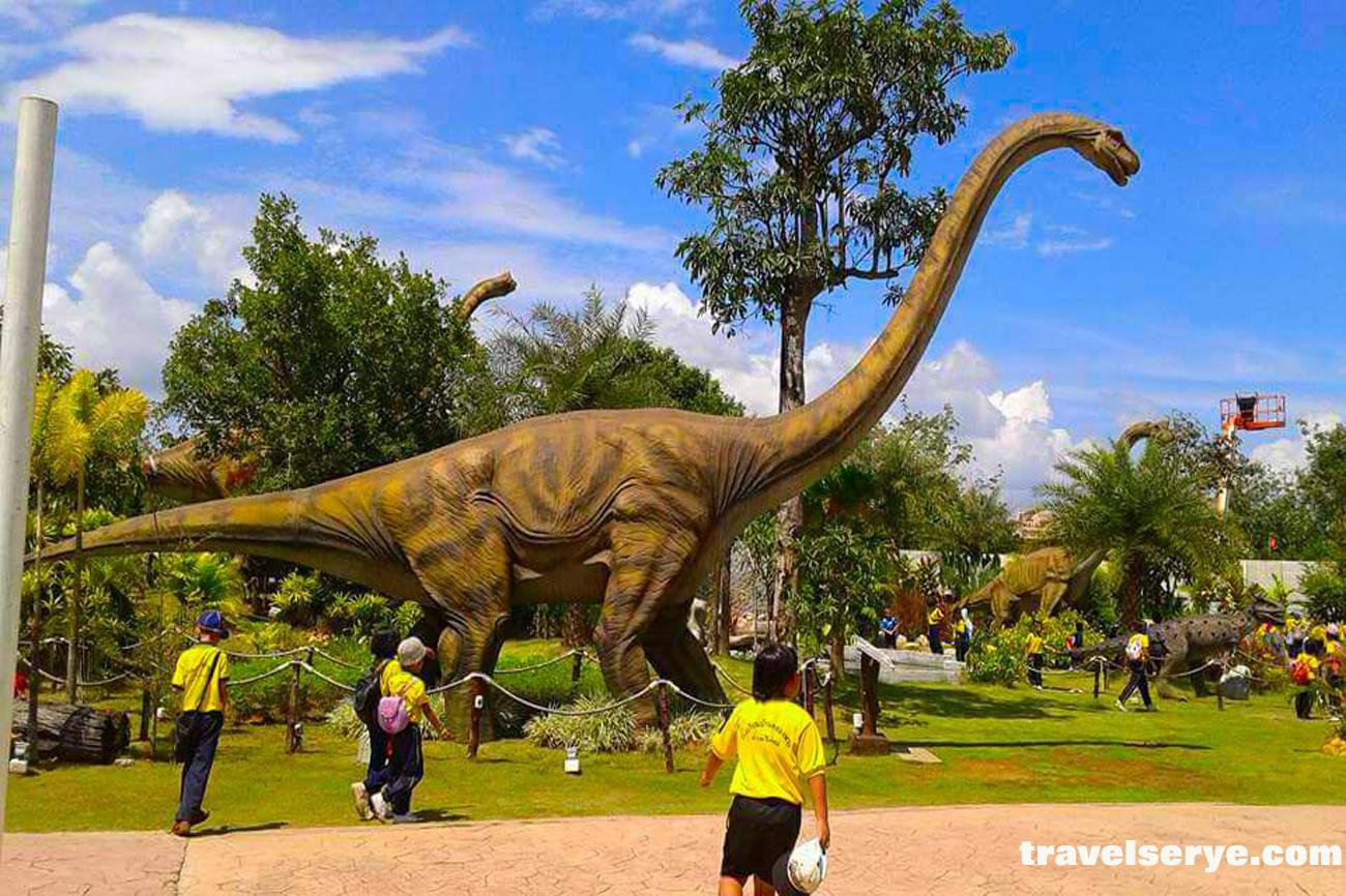 Dinosaur Park at Asian Cultural Village Sadao   Travel Serye
