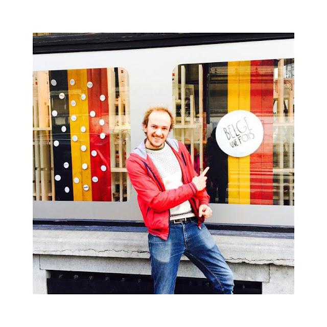 Aboutissement du projet Belge une fois dans une boutique bruxelloise