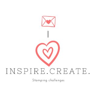 Inspire Create Stamping Challenge logo