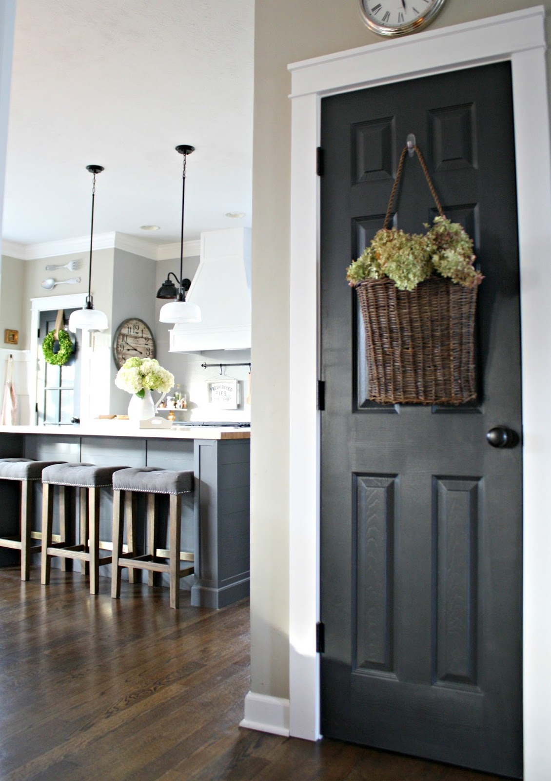 The surprising color every room needs from thrifty for Dark grey interior
