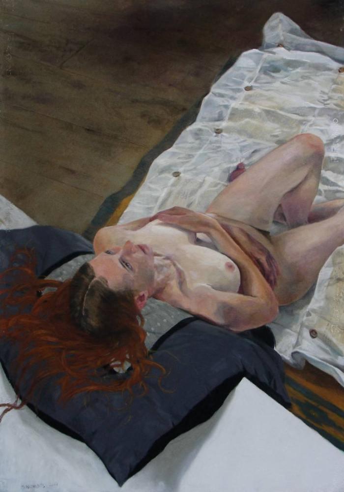 Бельгийский художник. Mathieu Weemaels-Rosenfeld