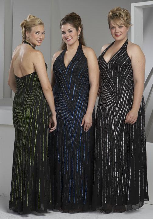 d990865ab4977 فساتين سهرة للسمينات وازياء للسمينات وملابس مقاسات كبيرة للنساء