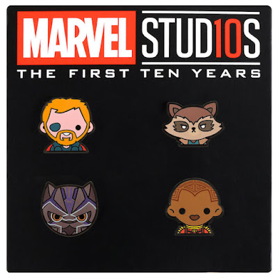 Marvel Studios: The First Ten Years Emoji Pin Series by 100% Soft x Disney Movie Rewards
