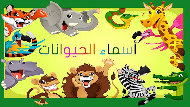 تعليم الأطفال الصغار أسماء الحيوانات باللغة العربية بكل سهولة