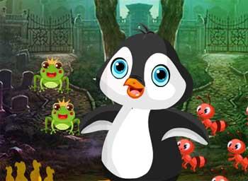 Juegos de Escape - Cute Penguin Rescue