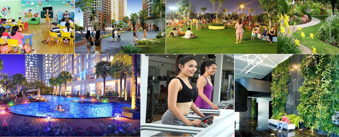 Các tiện ích nổi bật tại Flc Tropical City Hà Khánh