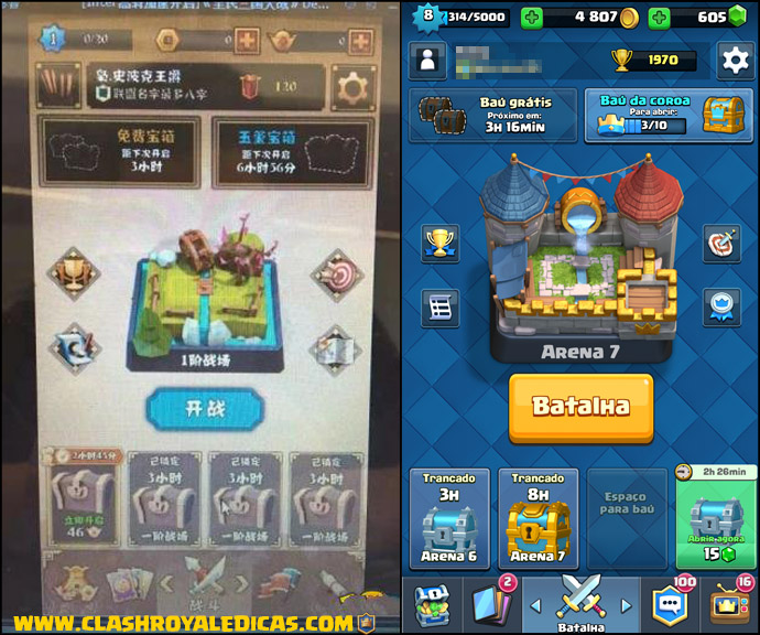 As copias de Clash Royale!
