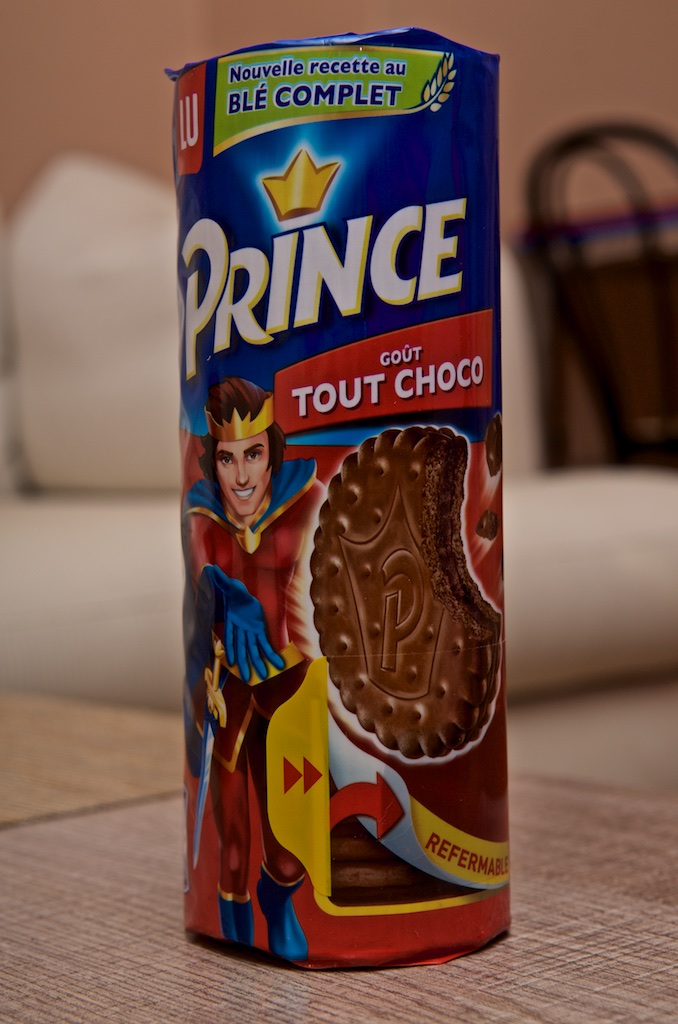 Gateau prince a la fraise