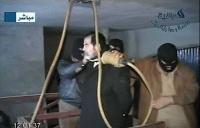 Saddam Hussein's execution on December 30, 2006