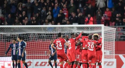 باريس سان جيرمان يسقط امام فريق ديجون بهدفين لهدف في الجولة الثانيه عشر من الدوري الفرنسي