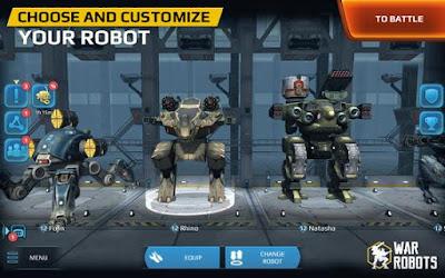 Walking War Robots Apk v2.6.1 Mod Terbaru 2017
