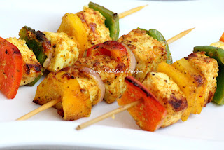 PANEER TIKKA / GRILLED COTTAGE CHEESE