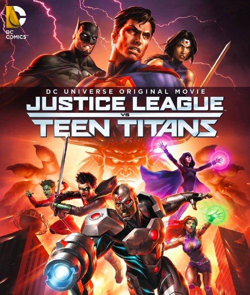 Liên Minh Công Lý Đấu Với Nhóm Teen Titans
