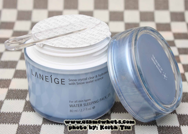 a photo of Laneige Water Sleeping Pack EX