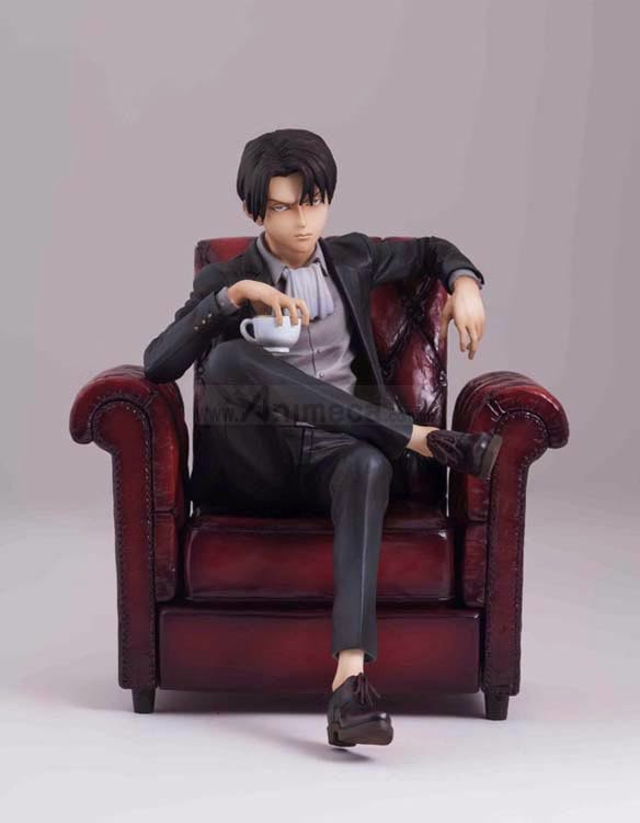 FIGURA LEVI mensHdge technical statue No.3 Shingeki no Kyojin