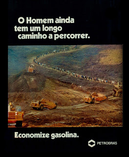 propaganda Petrobras - 1976.  reclame de carros anos 70. brazilian advertising cars in the 70. os anos 70. história da década de 70; Brazil in the 70s; propaganda carros anos 70; Oswaldo Hernandez;