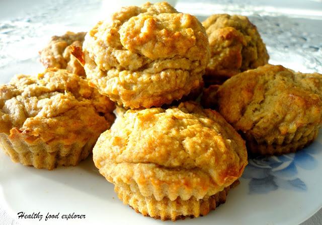 Dietetyczne muffinki bananowe
