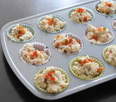 Eggless Tutti Fruity Muffins