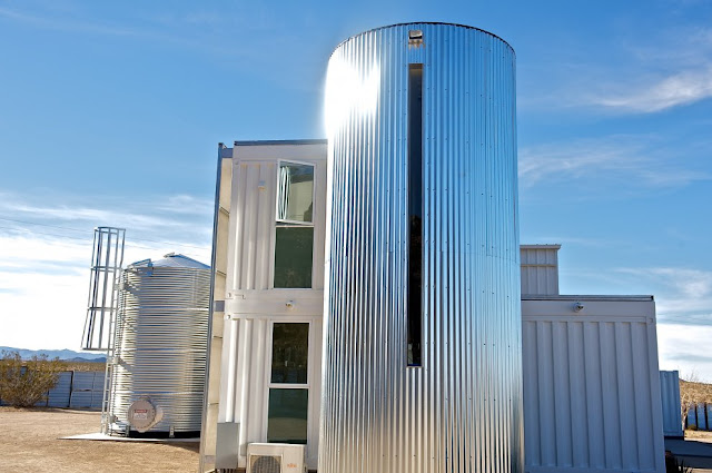 Modular Shipping Container Home in Mojave Desert, California 4