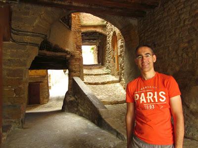 Pueblo medieval de Ager en el Montsec
