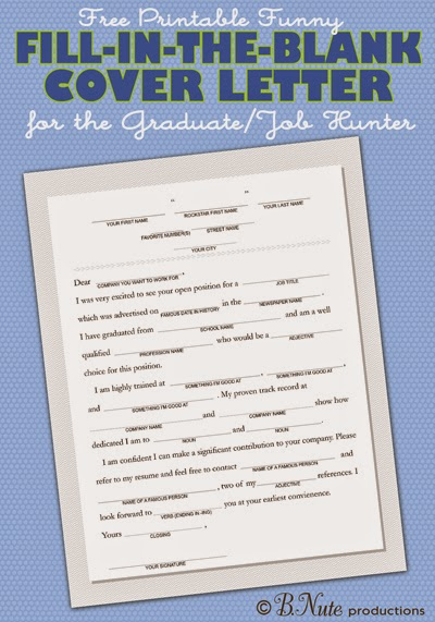 Bnute Productions Free Printable Fill In The Blank Funny