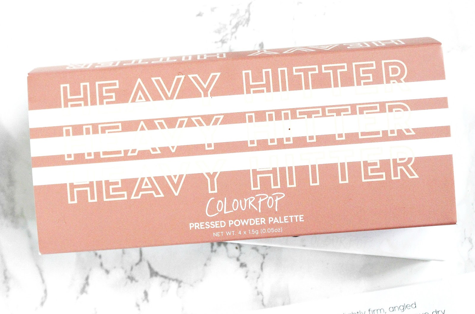 colourpop heavy hitter palette