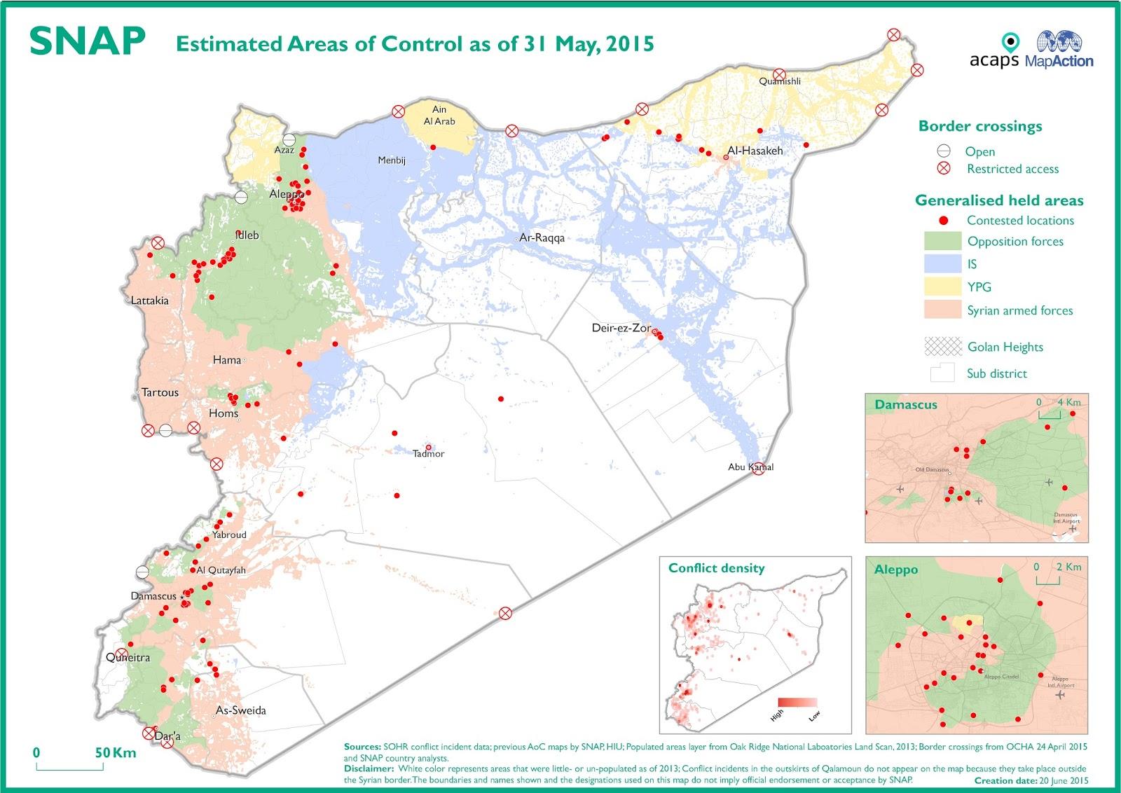 Syrien Karte Mit Städten.Landkartenblog Partner Oder Feinde Un Landkarte Deckt Auf Das Die