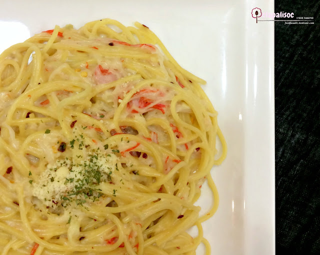Creamy Crab Meat Pasta from Papa John's Pizza PH
