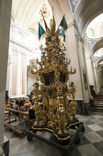 Candelora nella Chiesa di San Francesco-Catania
