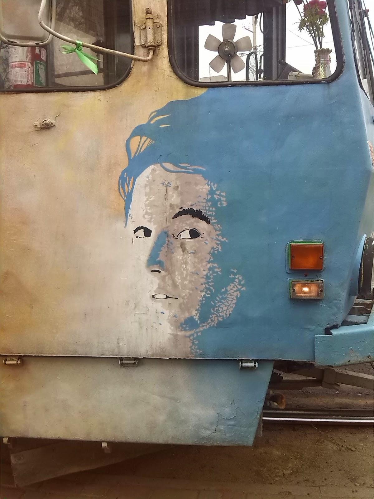 Стритарт + трамвай