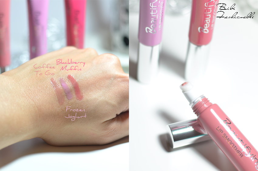 Catrice Beautifying Lip Smoother Swatches offen
