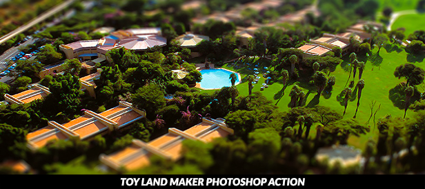 Toy Land Maker Photoshop Action